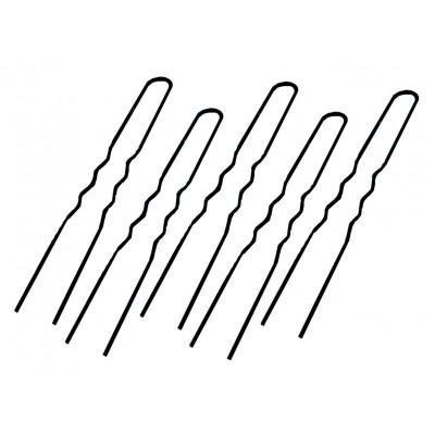 Шпильки для причесок AISULU 50 мм 110 г черные в пакетике
