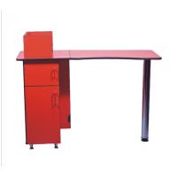 NE-25 Стол маникюрный (красно-черный)
