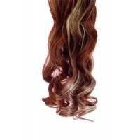 Волосы искусствен. ML-06 50 см на трессе кудрявые #30/613