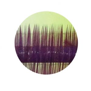 Ресницы цветные декоративные, 8 мм на планшетке толщина 0,15 мм A-484
