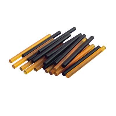 Палочки кератиновые Glue sticks (смола) для горячего наращивания волос черные (12 шт.)
