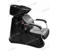 S-6021 Мойка парикмахерская с креслом (черная,