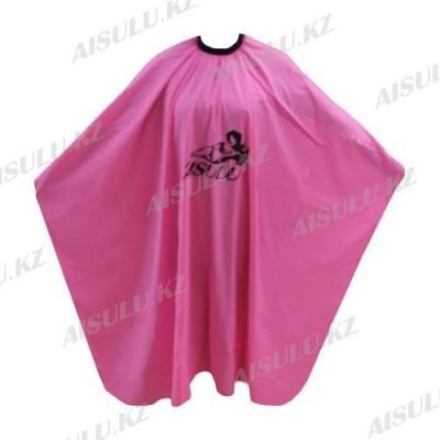 Пеньюар для парикмахера WB-01 розовый AISULU