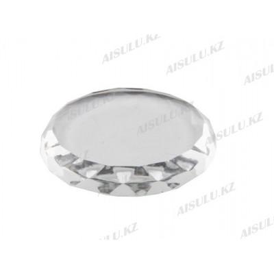 Подставка для клея ресниц круглая A-80 Ø 5 см (стеклянная)
