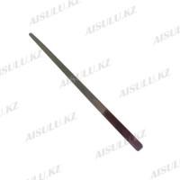 Пилка для ногтей металлическая AS-04 с напылением (22,5 х 1,5 см) AISULU