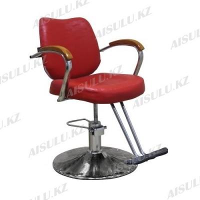 JH-8163 Кресло парикмахерское (красное,
