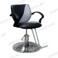 JH-866 Кресло парикмахерское (черно-серое,