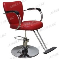 JH-8228 Кресло парикмахерское (красное,