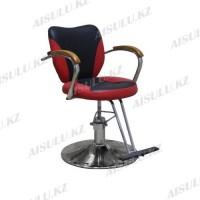 JH-8991 Кресло парикмахерское (черно-красное,