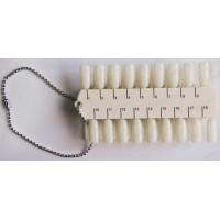 Палетка-пробник для лака 2-сторон. с цифрами на 36 оттенков