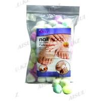 Салфетки-шарики ватные Ouli для маникюра OL-120 (120 шт.)