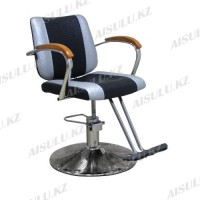 JH-8170 Кресло парикмахерское (черно-серое,