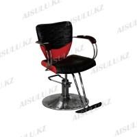 JH-8654 Кресло парикмахерское (черное-красное,