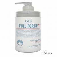 Маска для волос OLLIN Full Force тонизирующая с экстрактом женьшеня, 650 мл