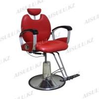 AS-806 Кресло парикмахерское (красное,