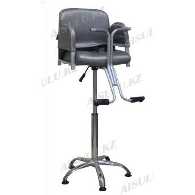 B-069 Кресло парикмахерское детское (серое,