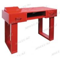 NE-30 Стол маникюрный из МДФ (красный)