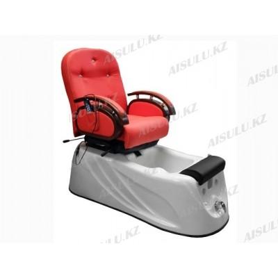 F-9859 A Кресло педикюрное с джакузи (красное,