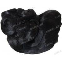 Волосы искусствен. 55 см на крабе (хвост) №7375 АLB # 4
