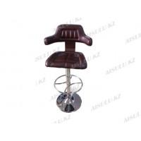 B-414 Кресло для макияжа (коричневое, гладкое)
