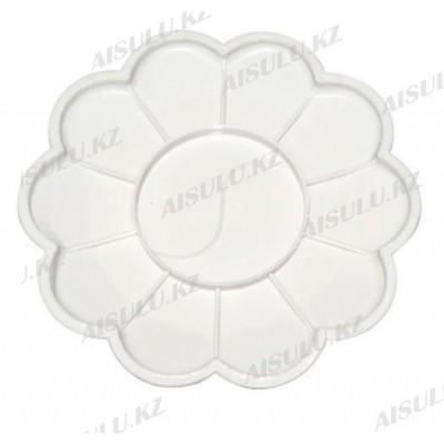 Палитра для краски 10 в 1 Ромашка пластиковая (большая)