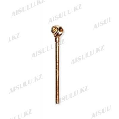 Фреза с алмазным напылением Medium Ball №8 (золото)