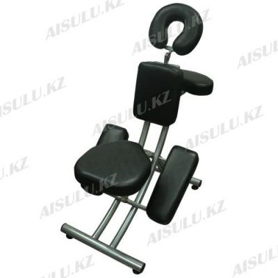 BM-002 Кресло для массажа или тату (черное, гладкое)
