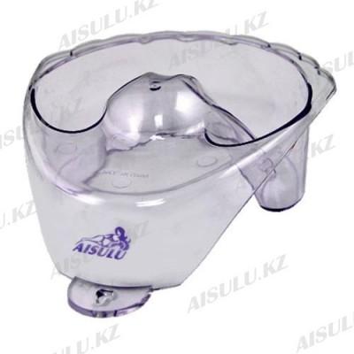 Ванночка для маникюра прозр. пласт. фигурная