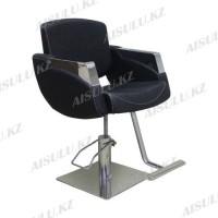 H-7048 Кресло парикмахерское (черное,