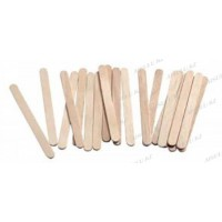 Шпатель для депиляции YM-510 деревянный тонкий (100 шт.)