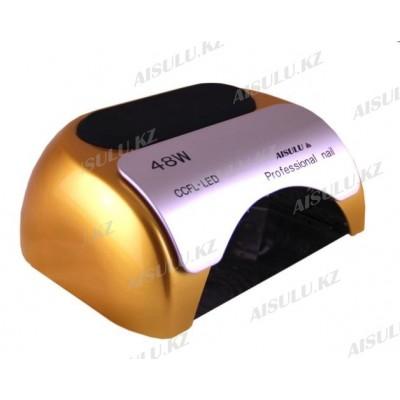 UV LED + CCFL Proff. лампа AISULU YM-18 K 48W (сенсор/с таймер/подст для рук/в асс)