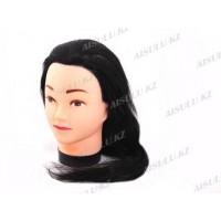 Болванка учебная для парикмахера искусствен. TM-01 (черная)