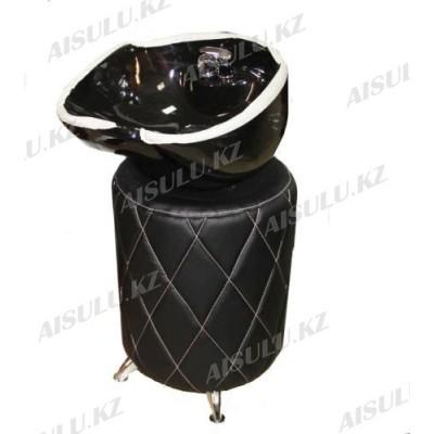 AS-008 Мойка-тумба без кресла (черная)
