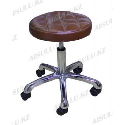 AS-3012 Стул для мастера (светло-коричневый)