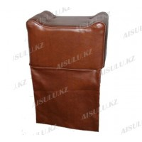 AS-090 Кресло-пуфик детское переносное (светло-коричневое)