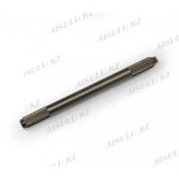 Ручка для микроблейдинга и ручного татуажа двухстор. металл (серебристая)