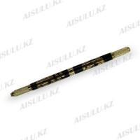 Ручка для микроблейдинга и ручного татуажа двухстор., металл (дракон)