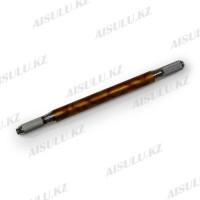 Ручка для микроблейдинга и ручного татуажа двухстор. металл разборная с узором (мрамор)