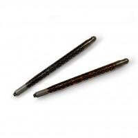 Ручка-манипула для микроблейдинга и ручного татуажа двухстор., металл (горошек, орнамент)