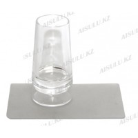 Печать для стемпинга гелевая прозрачная со скребком