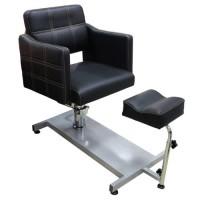F-616 С Кресло педикюрное (черное, гладкое)