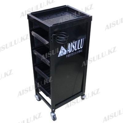 NJ-88006 Помощник-тележка парикмахерская AISULU (черная)