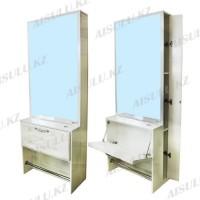 AS-1122 Зеркало напольное одностороннее (белое)