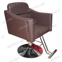 JH-8662 Кресло парикмахерское (коричневое, матовое)