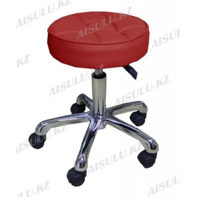 AS-3011 Стул для мастера (красный)