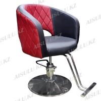 AS-7181 Кресло парикмахерское (черно-красное)