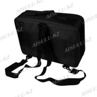 Сумка-чемодан для визажиста XZ-08 с делениями/матерчатый 40х28 см (черный)
