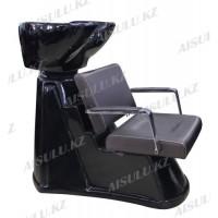 S-6050 Мойка парикмахерская с креслом (коричневая,