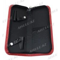 Футляр для 2х ножниц и расчесок №166 в ассортименте AISULU