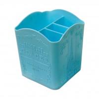 Подставка для инструм пластик GLASES 8 х 8 х 10 см в ассорт.